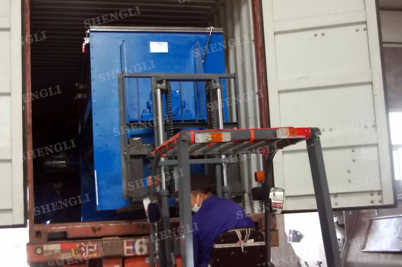 工作原理:螺带搅拌机采用u型筒体,内装平行主轴,主轴上安装正反双向